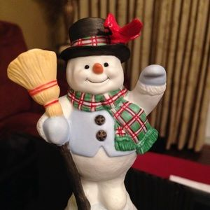 Christmas Collectible - A Snowy Salute by Lenox
